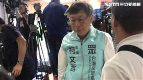 台北市長、民眾黨主席柯文哲。 記者林恩如攝影