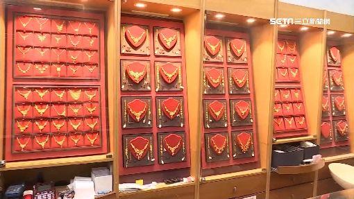 貴重金飾也網購 業者:刷卡省時有優惠,金飾,金項鍊,銀樓,示意圖