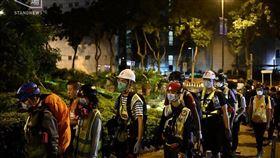 香港,反送中,理大,示威者(圖/翻攝自Stand News 立場新聞)