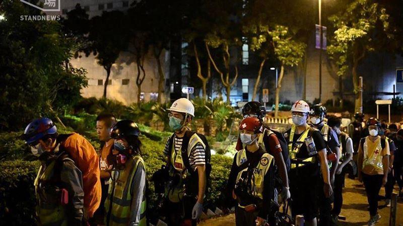 情緒崩潰!香港理大仍近百示威者 留守者:能撐多久是多久