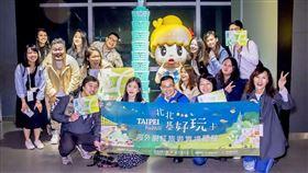 被政治耽誤的旅遊玩家! 劉奕霆和海外網紅比手劃腳玩臺北 台北市觀光傳播局