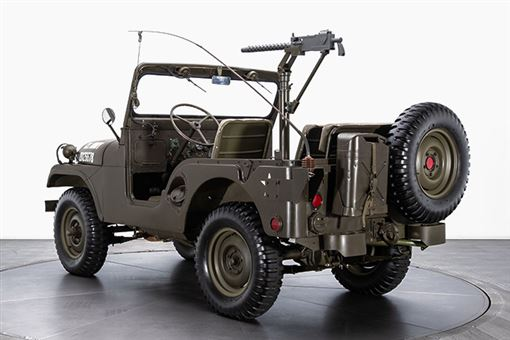 ▲即將拍賣的1953 Willys M38A1吉普車。(圖/翻攝網站)