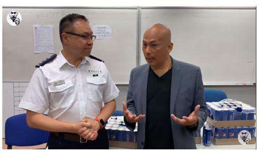 新加坡,批評香港,反送中,楊官華,違反法令,遭遣返(圖/截圖自Youtube)