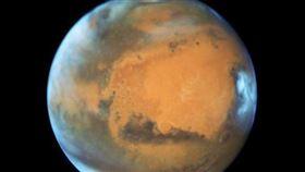火星,生命跡象,美學者,被評為,幻想性錯覺(圖/翻攝自@NASAJPL 推特)