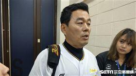 韓職聯隊總教練朴治王。(圖/記者王怡翔攝影)
