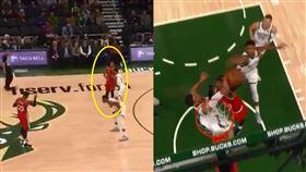 NBA/要明星隊友讓開…甜瓜慘吃鍋 NBA,波特蘭拓荒者,Carmelo Anthony,CJ McCollum 翻攝自推特