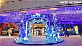 冰雪奇緣2,台灣華特迪士尼,SOGO百貨,SOGO,IG,打卡,冰雪奇緣II 冰紛聖誕 圖/台灣華特迪士尼提供