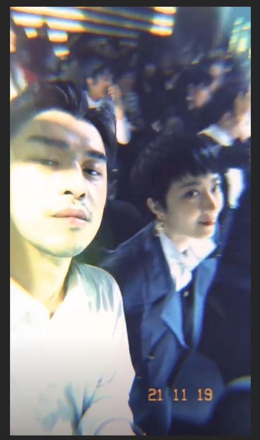 陳柏霖與桂綸鎂同框(IG)