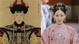 純妃,純惠皇貴妃朝服像