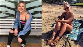 電子腳鐐,家庭拘留,紐西蘭,酒駕,吸毒,判決,海灘,比基尼,沙灘, 圖/翻攝自IG