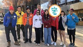 飢餓遊戲,韓國大邱拍攝,竟然邀請到偶像劇女神「周曉涵」參戰。(圖/翻攝自孫協志臉書)