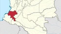 發生攻擊事件的考卡省。(圖/翻攝自維基百科)  https://zh.wikipedia.org/wiki/%E8%80%83%E5%8D%A1%E7%9C%81#/media/File:Cauca_in_Colombia_(mainland).svg