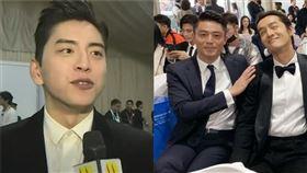 王大陸 霍建華 圖/微博