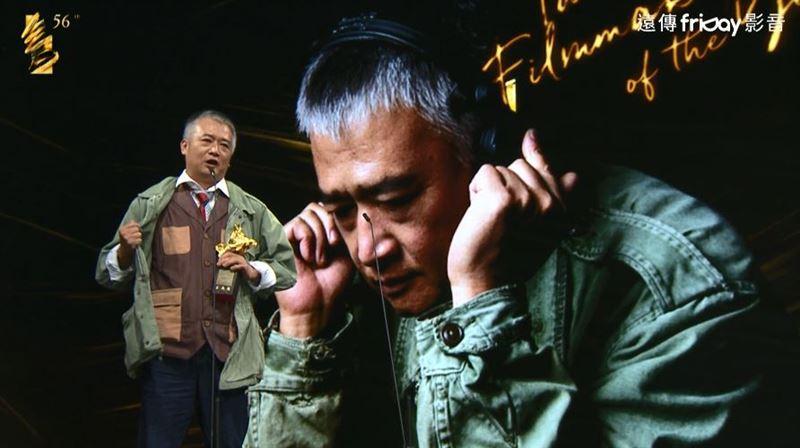 台灣傑出電影工作者湯湘竹 戰袍領獎