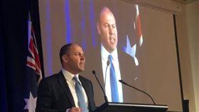 澳洲財政部長佛萊登柏格(Josh Frydenberg)翻攝自Josh Frydenberg推特