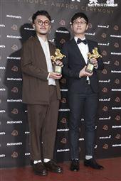 金馬56得獎最佳視覺效果郭憲聰《返校》。(圖/記者邱榮吉、林士傑、林聖凱攝影)