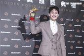 金馬56得獎最佳新演員范少勳《下半場》。(圖/記者邱榮吉、林士傑、林聖凱攝影)