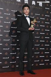 金馬56得獎最佳動作設計洪昰顥《狂徒》。(圖/記者邱榮吉、林士傑、林聖凱攝影)
