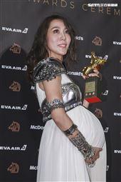 金馬56得獎最佳女配角張詩盈《我的靈魂是愛做的》。(圖/記者邱榮吉、林士傑、林聖凱攝影)