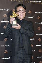 金馬56得獎最佳美術設計王誌成《返校》。(圖/記者邱榮吉、林士傑、林聖凱攝影)