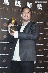 金馬56得獎最佳原創電影音樂張偉勇《幻土》。(圖/記者邱榮吉、林士傑、林聖凱攝影)