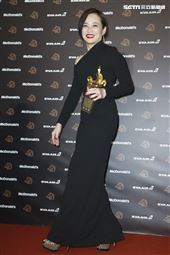 金馬56得獎最佳女主角楊雁雁《熱帶雨》。(圖/記者邱榮吉、林士傑、林聖凱攝影)