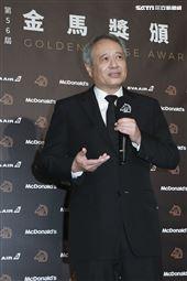 金馬56得獎導演李安。(圖/記者邱榮吉、林士傑、林聖凱攝影)
