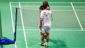 周天成參加超級750級日本羽球公開賽。(圖/《魂燃天成》團隊提供)
