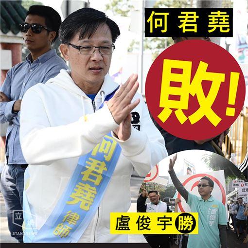 香港區議會選舉,激進建制派議員何君堯(圖/翻攝自Stand News 立場新聞)