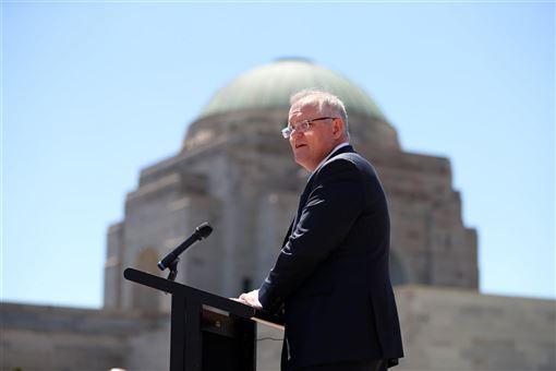 澳洲電視台節目揭露中國試圖滲透澳洲國會,總理莫里森(圖)25日發表聲明指出,將會嚴格處理。(圖取自facebook.com/scottmorrison4cook)