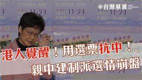 香港區議會,選舉,台灣基進,港人覺醒,台灣人 圖/翻攝自台灣基進臉書