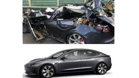 特斯拉,車禍,車型,Model3,入門款