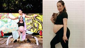 羅美玲,Terry,二寶,產子。翻攝自臉書