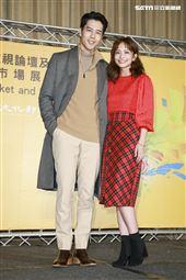 2019新加坡電視影匯市場展行前記者會《王牌辯護人》演員胡宇威、葉星辰。(圖/記者林士傑攝影)