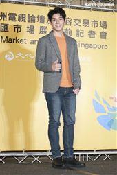 2019新加坡電視影匯市場展行前記者會《覆活》演員吳岳擎。(圖/記者林士傑攝影)