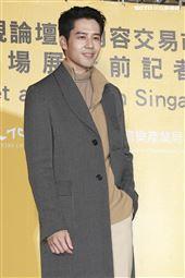 2019新加坡電視影匯市場展行前記者會《王牌辯護人》演員胡宇威。(圖/記者林士傑攝影)