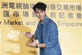 2019新加坡電視影匯市場展行前記者會《違反校規的跳投》演員吳念軒。(圖/記者林士傑攝影)