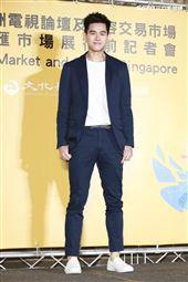 2019新加坡電視影匯市場展行前記者會《違反校規的跳投》演員李齊。(圖/記者林士傑攝影)