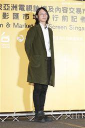 2019新加坡電視影匯市場展行前記者會《違反校規的跳投》導演李若辳。(圖/記者林士傑攝影)