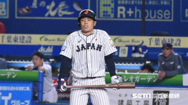 12強日本隊近藤健介。(資料圖/記者王怡翔攝影)