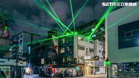 東區去什麼趣,光影藝術,互動裝置 北市府提供