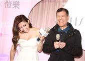 愷樂與爸爸一同出席活動,開出未來女婿條件。(記者邱榮吉/攝影)