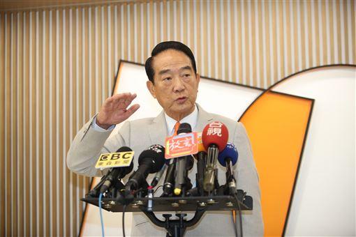 親民黨總統候選人宋楚瑜。(圖/親民黨競選辦公室提供)