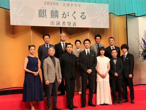 「麒麟來了」日前盛大舉辦記者會,澤尻英龍華也正式亮相。(圖/翻攝自otocoto)