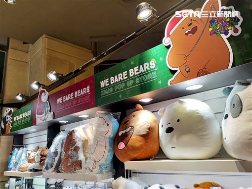 聖誕節,大大,胖達,阿極,熊熊遇見你,快閃店,A11,粉粉