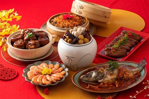 ▲年菜(圖/萬鮮公司提供)