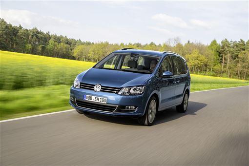▲2020年式Volkswagen The Sharan。(圖/Volkswagen提供)