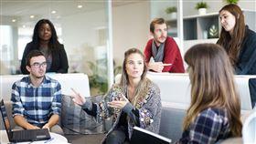 職場,工作,會議,開會,討論,團隊,同事(圖/Pixabay)