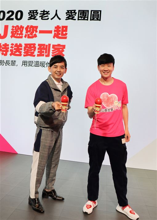 林俊傑黃子佼做公益(JFJ Production提供)