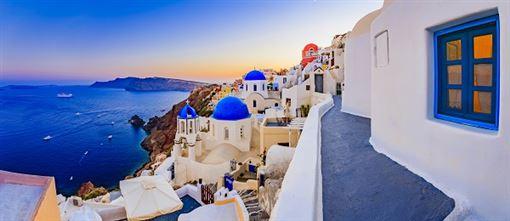 ▲全球最美的夕陽在伊亞(圖/shutterstock.com)